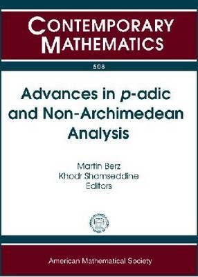 Advances in $P$-ADIC and Non-Archimedean Analysis image