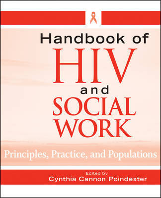 Handbook of HIV and Social Work by Cynthia Cannon Poindexter image