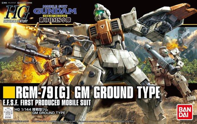 HG 1/144 RGM-79 [G] GM Ground Type - Model Kit