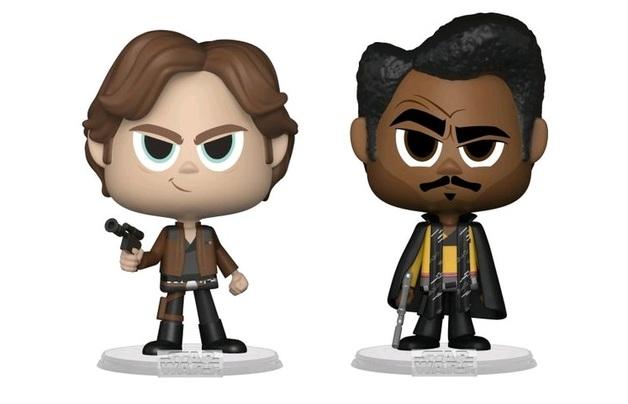 Han Solo + Lando Calrissian - Vynl. Figure 2-Pack