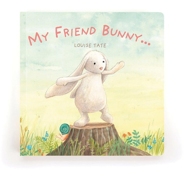 Jellycat: My Friend Bunny Book