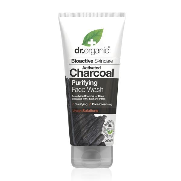Dr. Organic - Charcoal Face Wash (200ml)