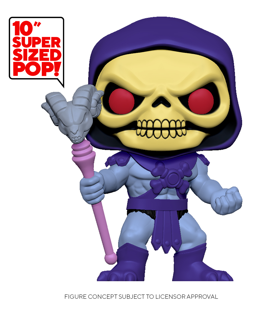 "MotU: Skeletor - 10"" Super Sized Pop! Vinyl Figure image"