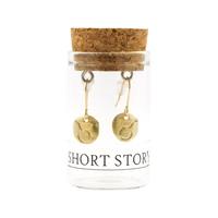 SHORT STORY Drop Star Sign Taurus Gold
