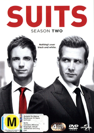 Suits - Season Two DVD