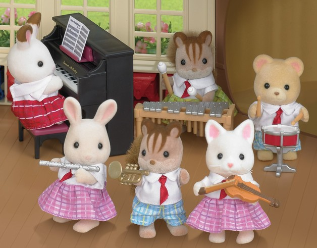 Sylvanian Families: School Music Set