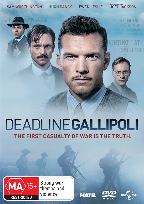 Deadline: Gallipoli on DVD