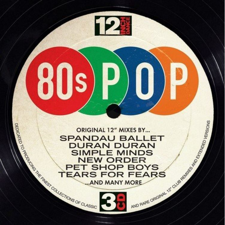 12 Inch Dance 80 S Pop 3cd Various At Mighty Ape