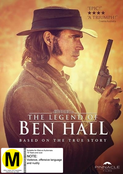 The Legend Of Ben Hall on DVD image