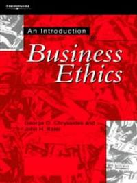 An Introduction to Business Ethics by George Chryssides image