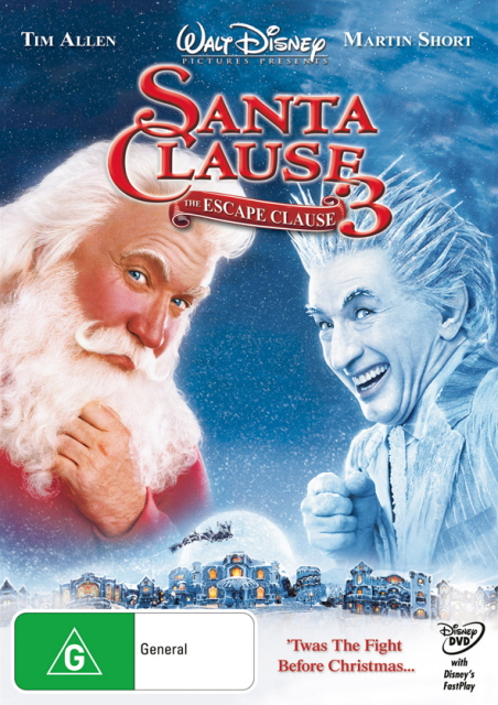 Santa Clause 3 - The Escape Clause on DVD image