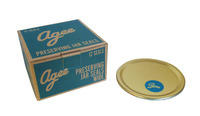 Agee Wide Preserving Jar Seals (12Pc)