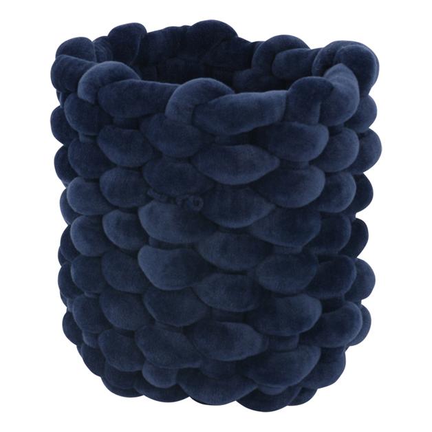 Moxy Velvet Pot Holder (XS) - Navy