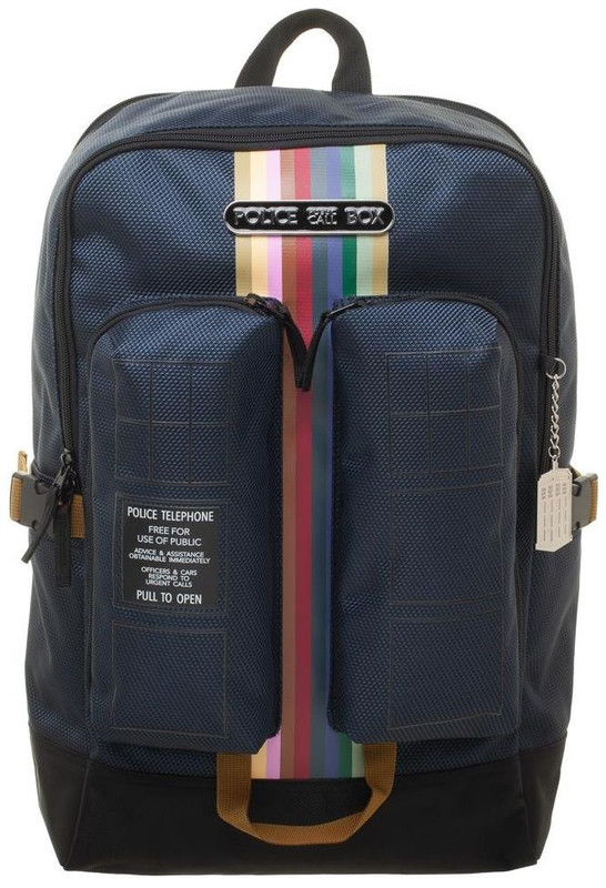 Doctor Who: Double Pocket Backpack - Tardis