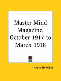 Master Mind Magazine (1917): v. 13 image