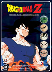 Dragon Ball Z Uncut  - Series 2 Collection 1 on DVD