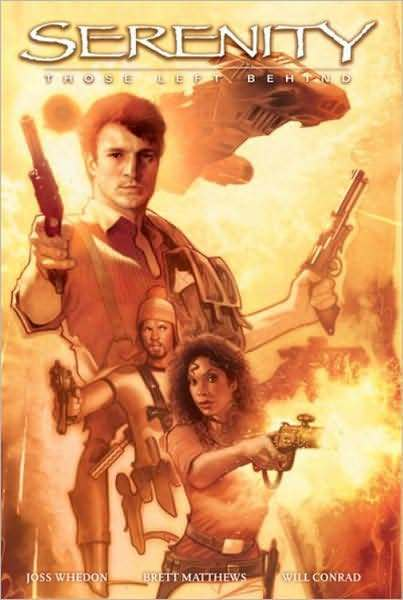 Serenity: Those Left Behind by Joss Whedon