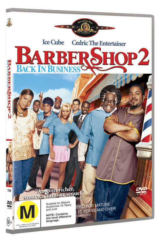 Barbershop 2 - Back In Business on DVD