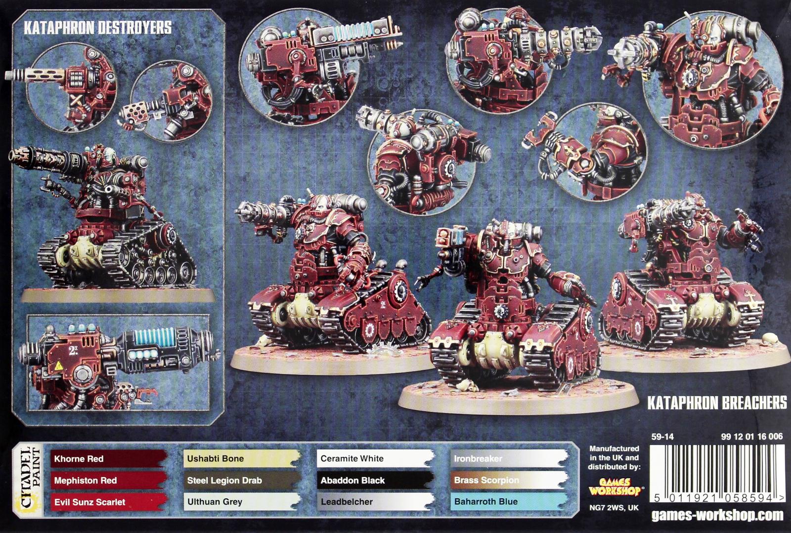 Warhammer 40,000 Adeptus Mechanicus Kataphron Battle Servitors image