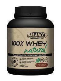 Balance 100% Whey Natural - Chocolate (1.5kg)