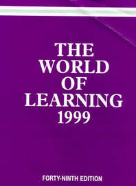 The World of Learning by Europa Publications image