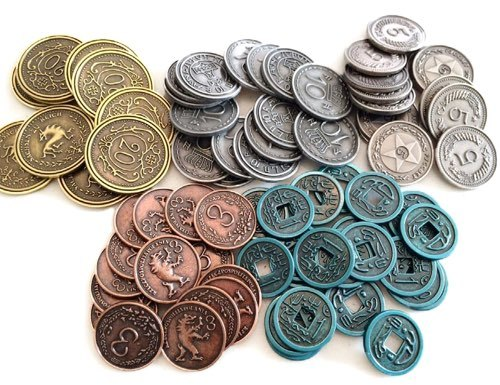 Scythe - Metal Coins image