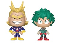 My Hero Academia: All Might + Deku - Vynl. Figure 2-Pack