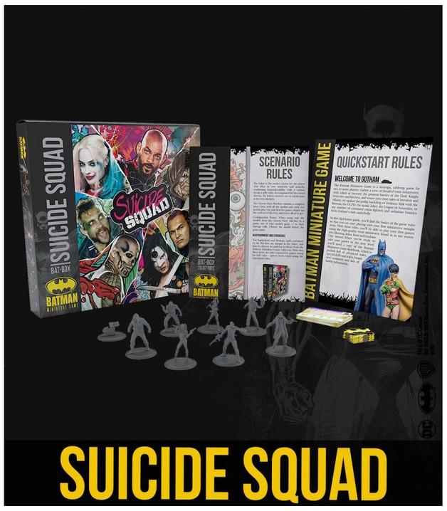 Batman: Miniatures Game - Suicide Squad Bat Box Set
