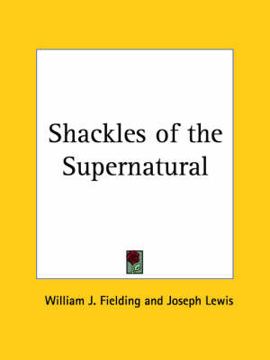 Shackles of the Supernatural (1938) by Joseph Lewis image