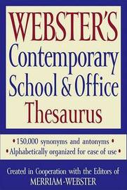 Webster's Contemporary School & Office Thesaurus image