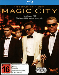 Magic City - The Complete First Season on Blu-ray