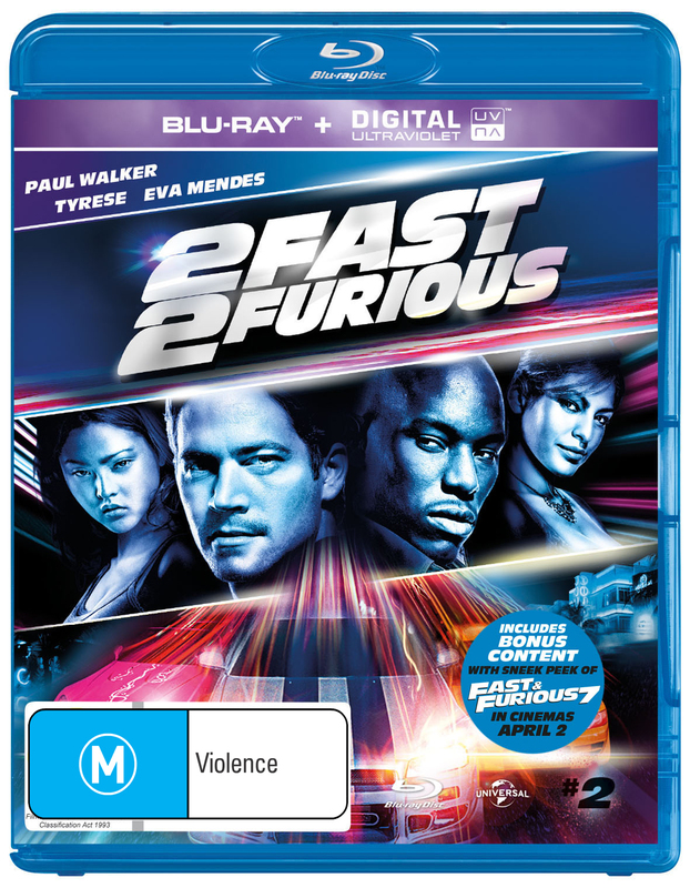 2 Fast 2 Furious on Blu-ray