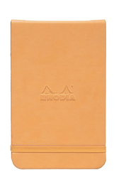 Webnotepad A6 Microperf Lined With Elastic Closure (Orange)
