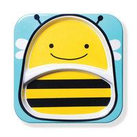 Skip Hop: Zoo Divided Plate - Bee