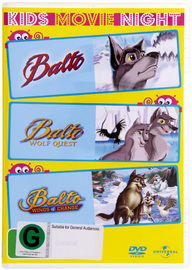 Balto - Kids 3 DVD Pack (3 Disc Set) on DVD image