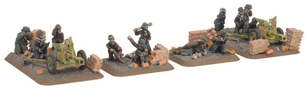 Flames of War - Volkssturm Infantry Gun Platoon
