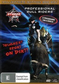 PBR - Professional Bull Riders: The Toughest Sport On Dirt! - Collector's Edition (4 Disc Box Set) on DVD image