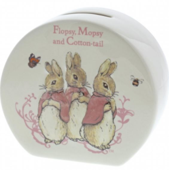 Beatrix Potter: Moneybox: Flopsy Mopsy & Cottontail