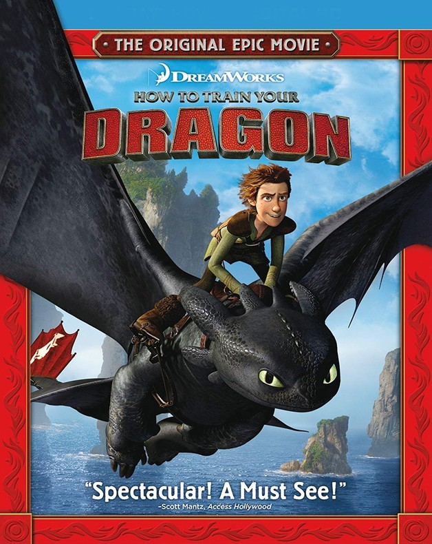 How to Train Your Dragon on Blu-ray
