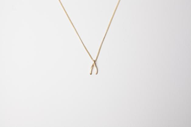 Stilen: Wish gold necklace