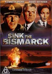 Sink The Bismarck on DVD