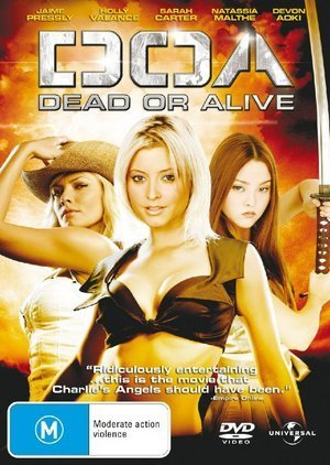 DOA - Dead Or Alive on DVD