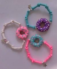 Donut Bracelet - Lilac