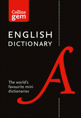 Collins English Dictionary Gem Edition by Collins Dictionaries image