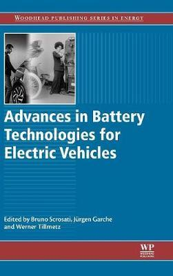 Advances in Battery Technologies for Electric Vehicles by Bruno Scrosati image