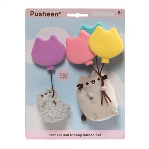 Pusheen the Cat: Pusheen & Stormy Balloons - Plush Set
