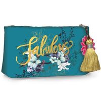 Papaya Small Cosmetics Bag - Jewel Flower