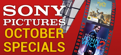 Sony Pictures October Specials - Up to 70% off!