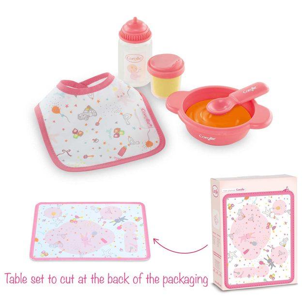 Corolle Doll Accessories: Mon Premier Mealtime Set