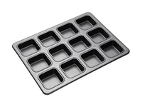 MasterClass: Non-Stick 12 Cup Square Brownie Pan